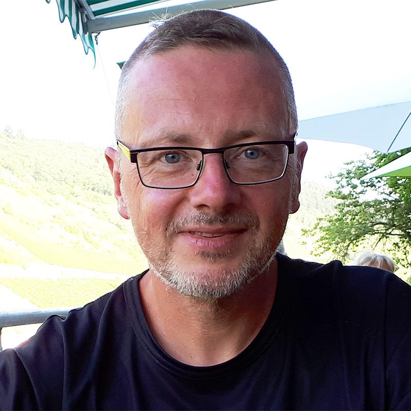 Pilgerwagennomade Detlef Bonnemann