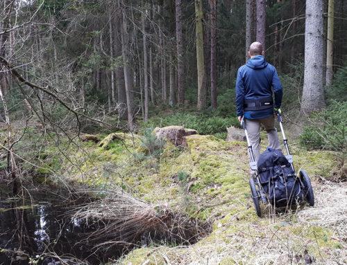 Tipps zum Wandern mit Pilgerwagen
