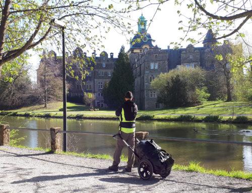 Sigwardsweg Südroute: Wanderung mit Pilgerwagen
