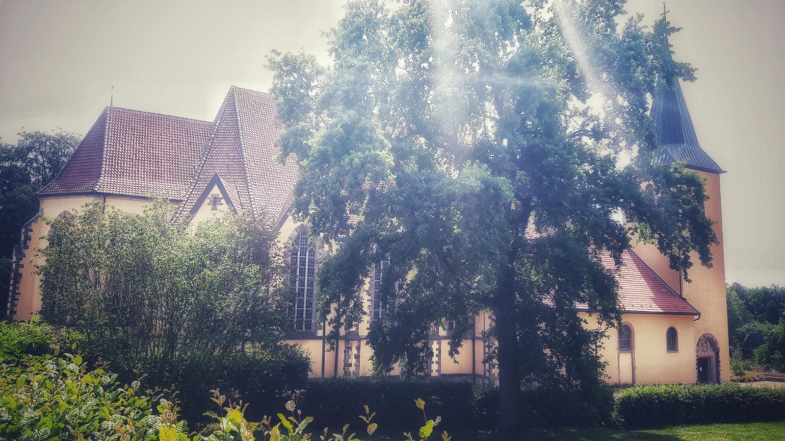 Wallfahrtskirche in Rulle