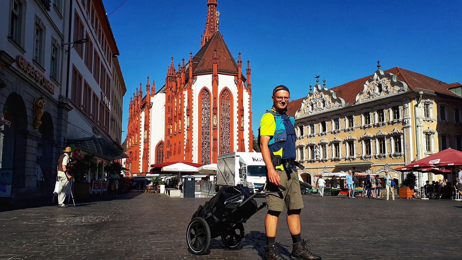 Platz in Würzburg