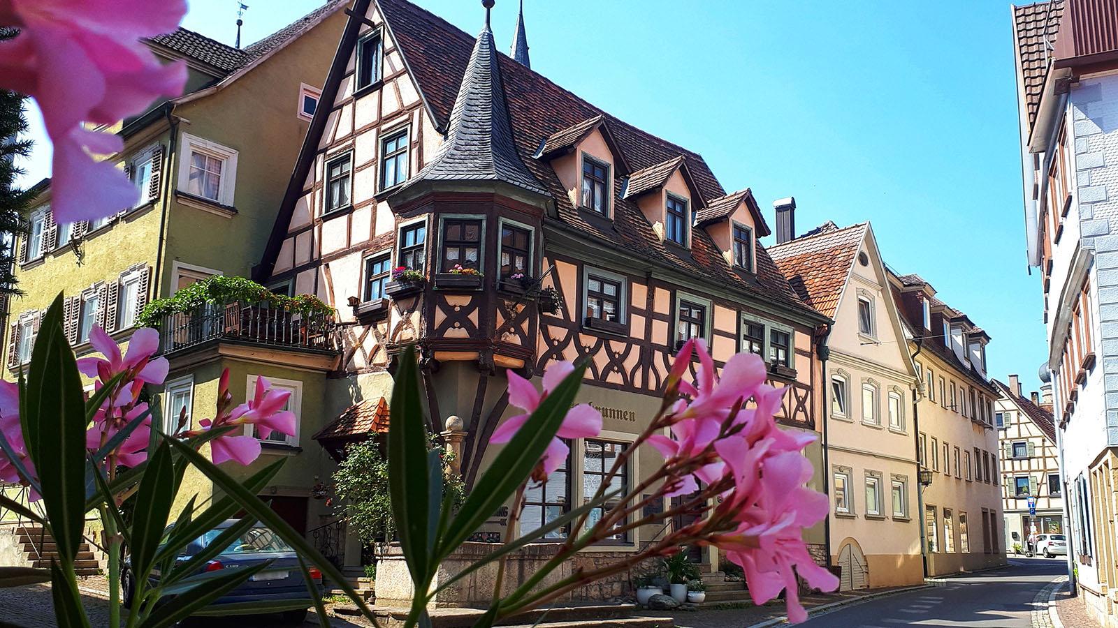 Fachwerkhaus in Weikersheim