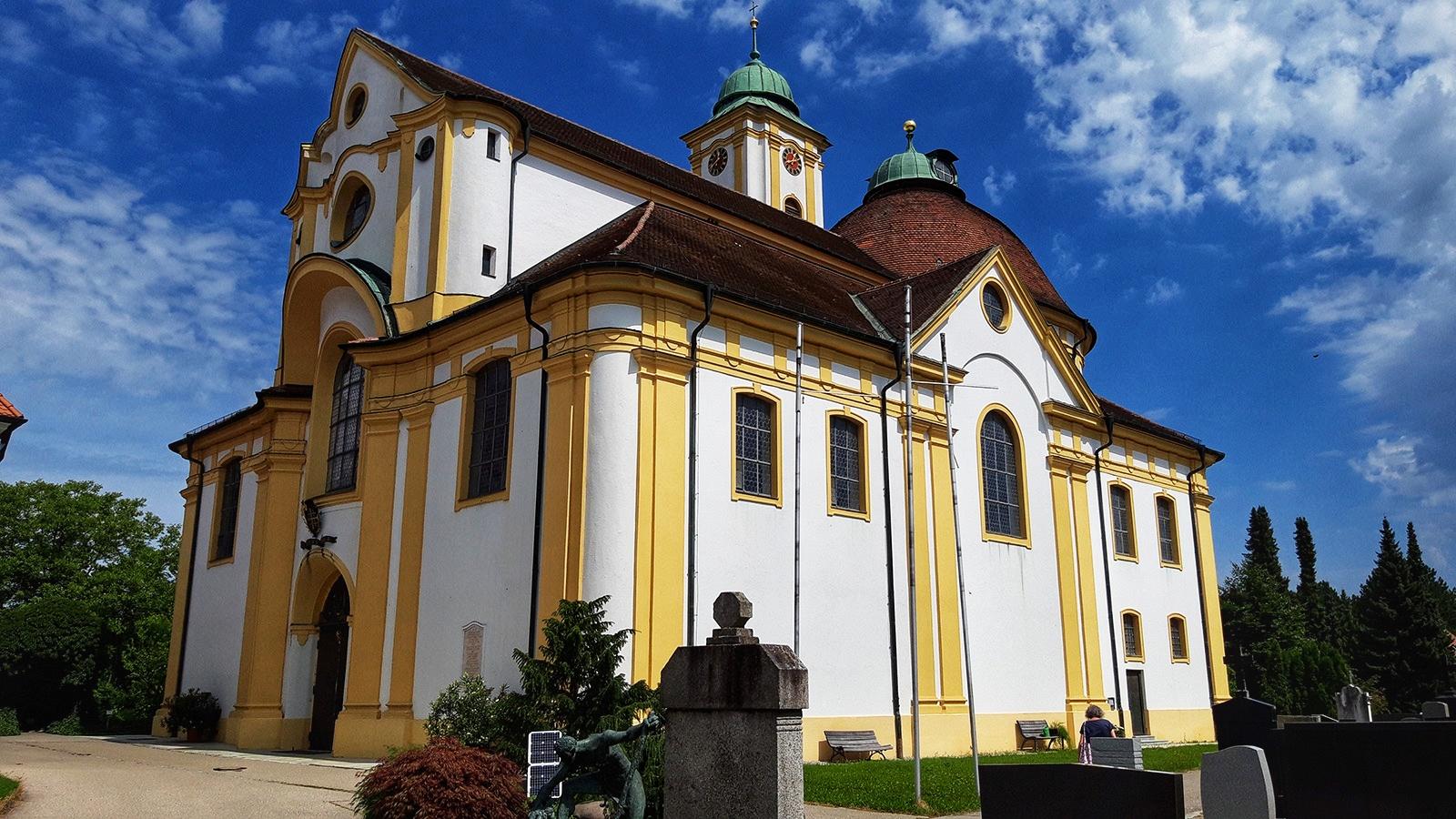 Wallfahrtskirche Herrgottsruh in Friedberg
