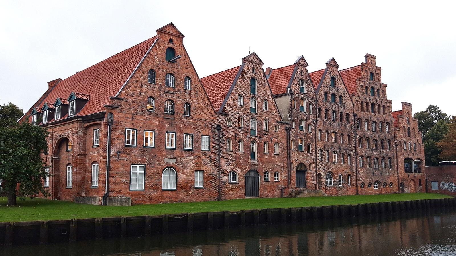 Historische Salzspeicher in Lübeck